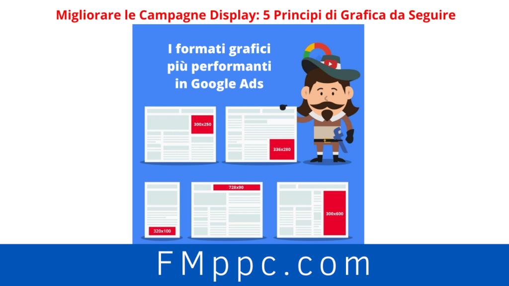 Immagina rappresentativa dei formati ideonei da seguire per migliroare le campagne display in google ads