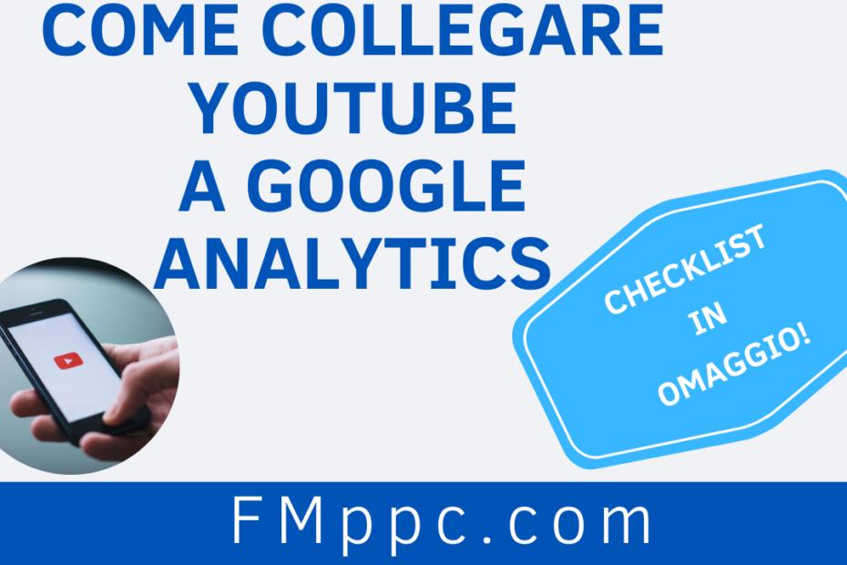 """immagine di copertina dell'articolo intitolato """"come collegare youtube a google analytics"""""""