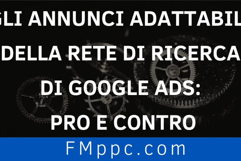 Copertina dell'articolo dedicato agli annunci adattabili nella rete di ricerca di Google Ads